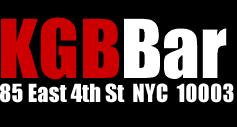 KGB Bar logo addy
