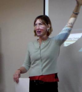 Lisa Kirchner teaching