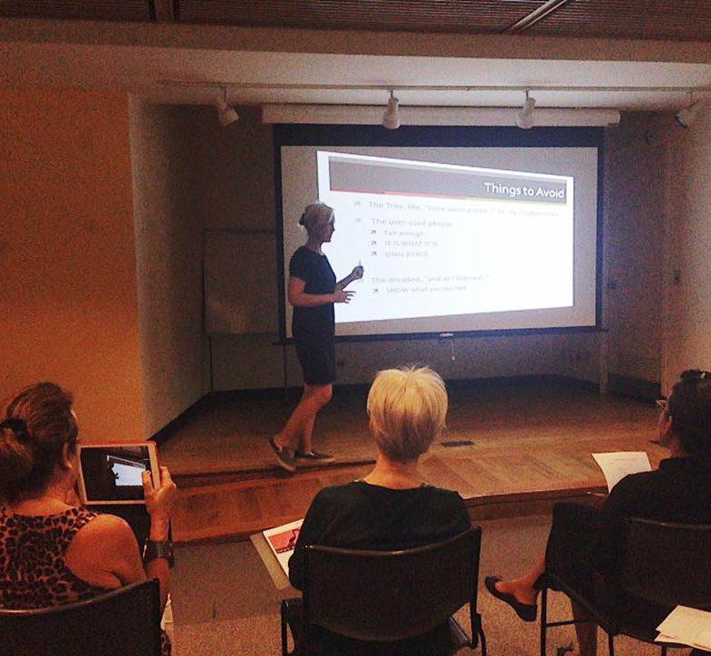 teaching at NYPL