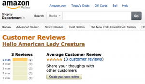 amazon cust revs